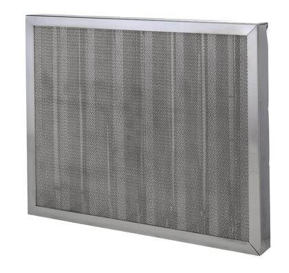 High Efficiency Flame Barrier Stainless Baffle Filter