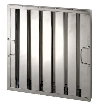 Low PD Stainless Baffle Filter